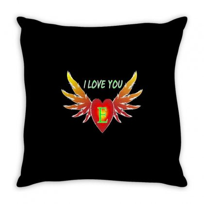 E-valentine Day Throw Pillow Designed By Arfa