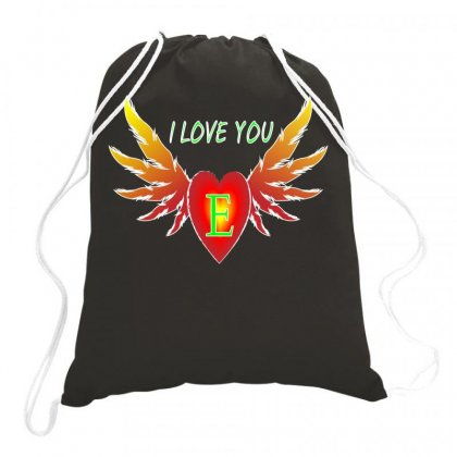 E-valentine Day Drawstring Bags Designed By Arfa