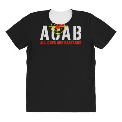 Cops Are Bastards All Over Women's T-shirt Designed By Aheupote