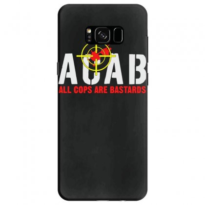 Cops Are Bastards Samsung Galaxy S8 Case Designed By Aheupote