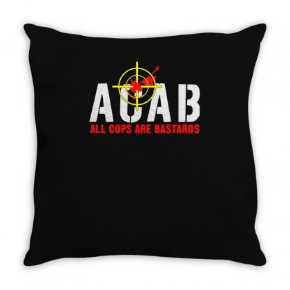 Cops Are Bastards Throw Pillow Designed By Aheupote