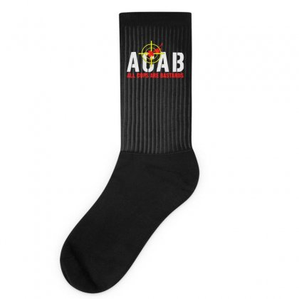 Cops Are Bastards Socks Designed By Aheupote