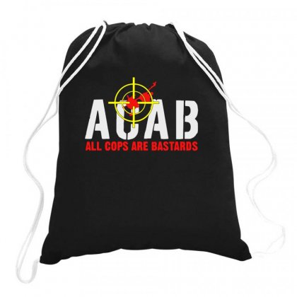 Cops Are Bastards Drawstring Bags Designed By Aheupote