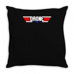 drone pilot flying ace remote control Throw Pillow | Artistshot