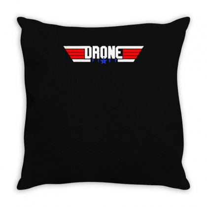 Drone Pilot Flying Ace Remote Control Throw Pillow Designed By Aheupote