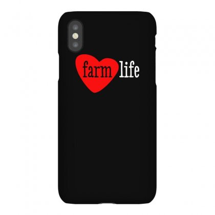 I Heart Farm Life Iphonex Case Designed By Aheupote