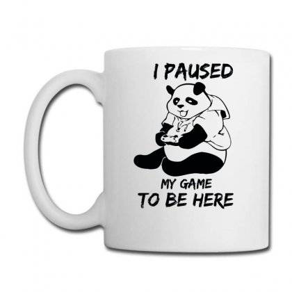 I Paused My Game To Be Here Coffee Mug Designed By Aheupote