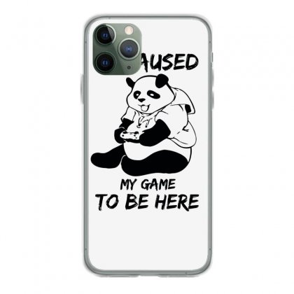 I Paused My Game To Be Here Iphone 11 Pro Case Designed By Aheupote