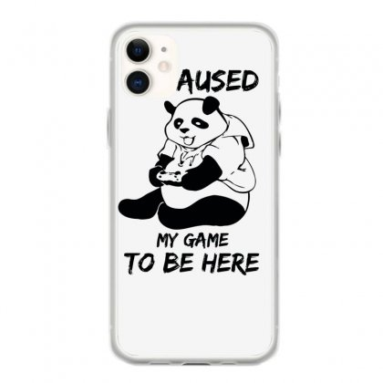 I Paused My Game To Be Here Iphone 11 Case Designed By Aheupote