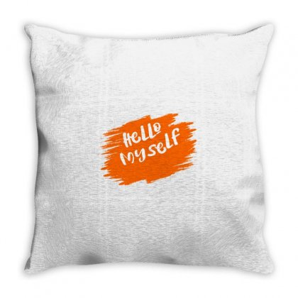 Hello T Shirt Throw Pillow Designed By Usr