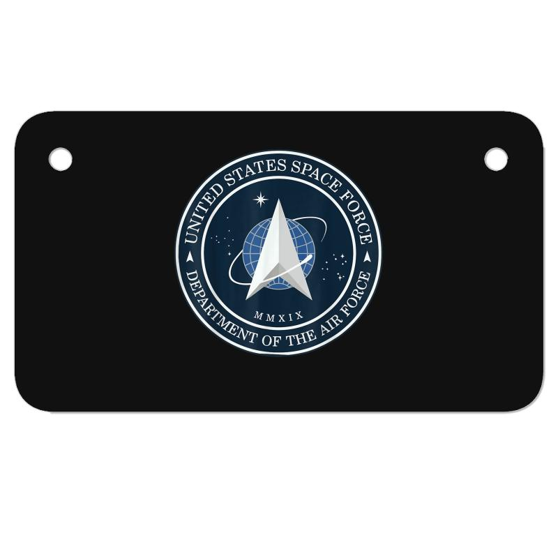 Space United States Force Logo 2020 Motorcycle License Plate | Artistshot