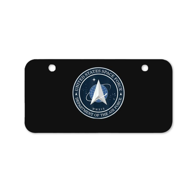 Space United States Force Logo 2020 Bicycle License Plate | Artistshot