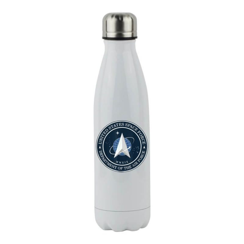 Space United States Force Logo 2020 Stainless Steel Water Bottle   Artistshot