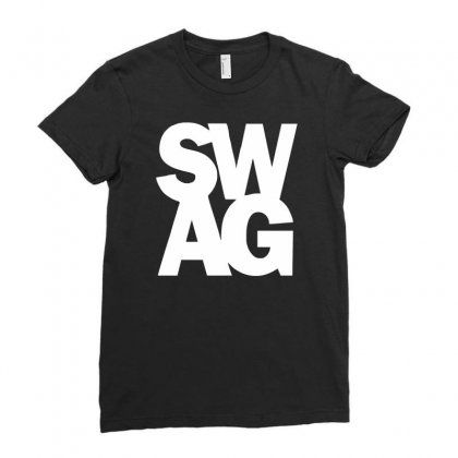 Swag Ladies Fitted T-shirt Designed By Ririn