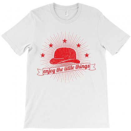 Enjoy The Little Things T-shirt Designed By Estore