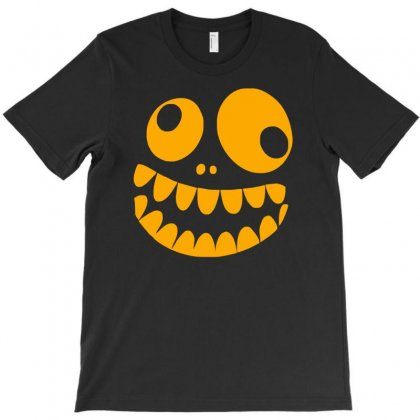 Funny Crazy Monster Face T-shirt Designed By Isma
