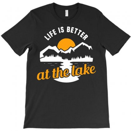 Life Is Better T-shirt Designed By Blqs Apparel
