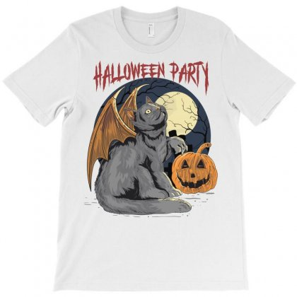 Halloween Party T-shirt Designed By Blqs Apparel