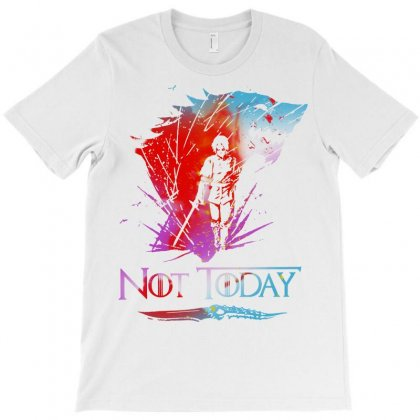 Not Today T-shirt Designed By Blqs Apparel