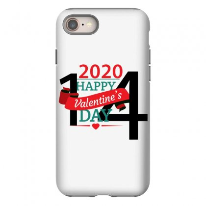 Happy Valentines Day 2020 Iphone 8 Case Designed By Elmihe