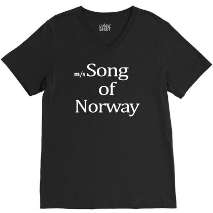 Song Of Norway V-neck Tee Designed By Isma