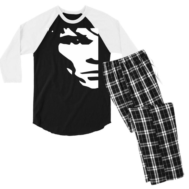 Ian Brown Stone Roses Men's 3/4 Sleeve Pajama Set | Artistshot