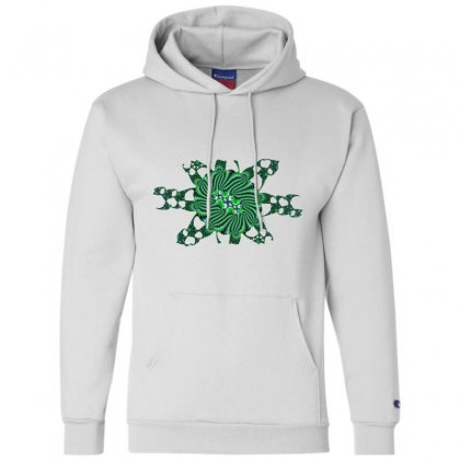 Fractal Cloud Champion Hoodie Designed By Zykkwolf