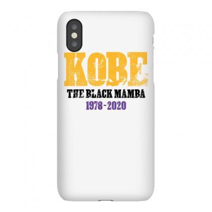 Kobe The Black Mamba 1978 2020 For Light Iphonex Case Designed By Sengul