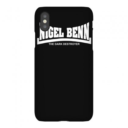 Nigel Benn The Dark Destroyer Iphonex Case Designed By Isma