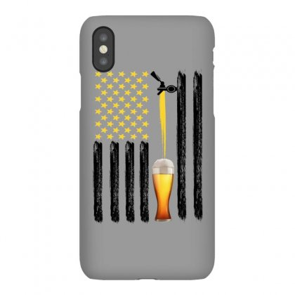 American Flag Beer For Light Iphonex Case Designed By Gurkan