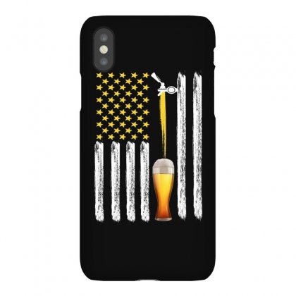 American Flag Beer For Dark Iphonex Case Designed By Gurkan