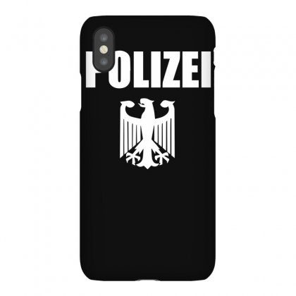 Polizei Iphonex Case Designed By Isma