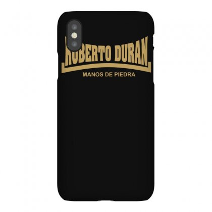 Roberto Duran Manos De Piedra Iphonex Case Designed By Isma