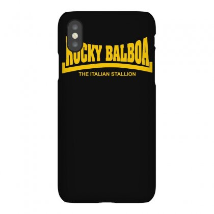 Rocky Balboa The Italian Stallion Iphonex Case Designed By Isma