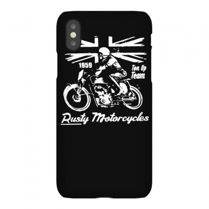 Rusty Motorcycles Iphonex Case Designed By Isma