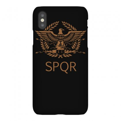 Spqr Roman Eagle Iphonex Case Designed By Isma