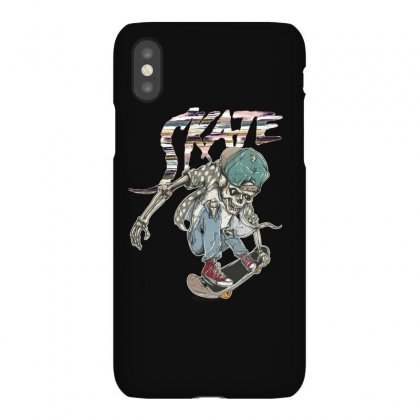 Skate Skull Iphonex Case Designed By Gurkan