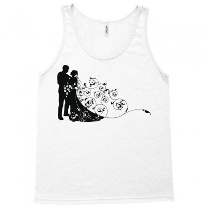 Bride And Groom Tank Top Designed By Nona Harf