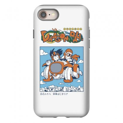 Goku And Roshi Iphone 8 Case Designed By Paísdelasmáquinas