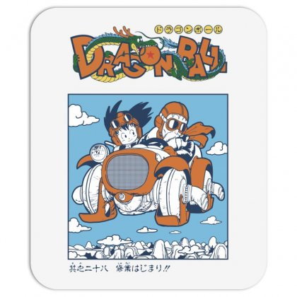 Goku And Roshi Mousepad Designed By Paísdelasmáquinas