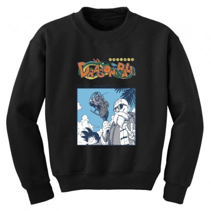 Muten Roshi Youth Sweatshirt Designed By Paísdelasmáquinas