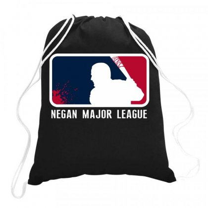 Negan Major League Funny Drawstring Bags Designed By Joe Art
