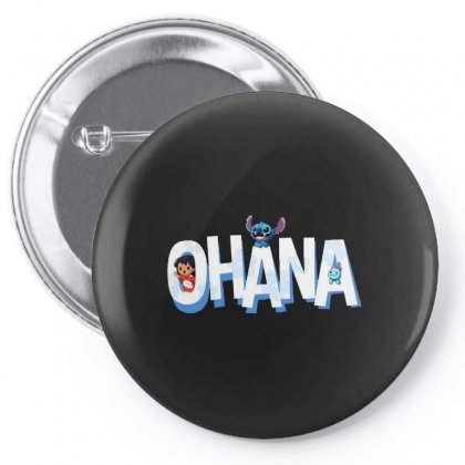 Ohana Pin-back Button Designed By Joe Art