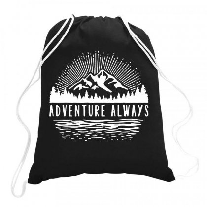 Outdoors Drawstring Bags Designed By Joe Art