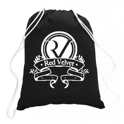 Red Velvet Rv Seal Drawstring Bags Designed By Joe Art
