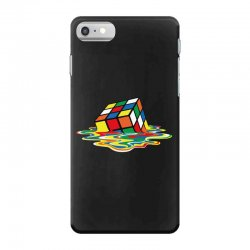 sheldon cooper   melting rubik's cube iPhone 7 Case | Artistshot