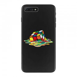 sheldon cooper   melting rubik's cube iPhone 7 Plus Case | Artistshot