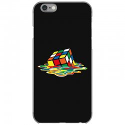 sheldon cooper   melting rubik's cube iPhone 6/6s Case | Artistshot