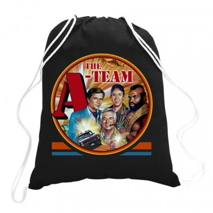 The A Team Drawstring Bags Designed By Joe Art