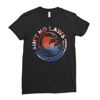 Trevor Wallace White Claw Ladies Fitted T-shirt Designed By Joe Art